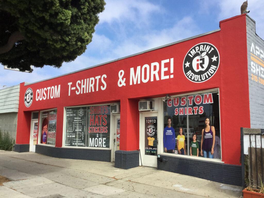 Imprint Revolution's refreshed storefront in Mar Vista.
