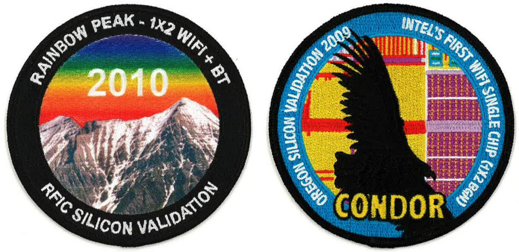 Comparison of dye sublimated patch with full embroidery patch